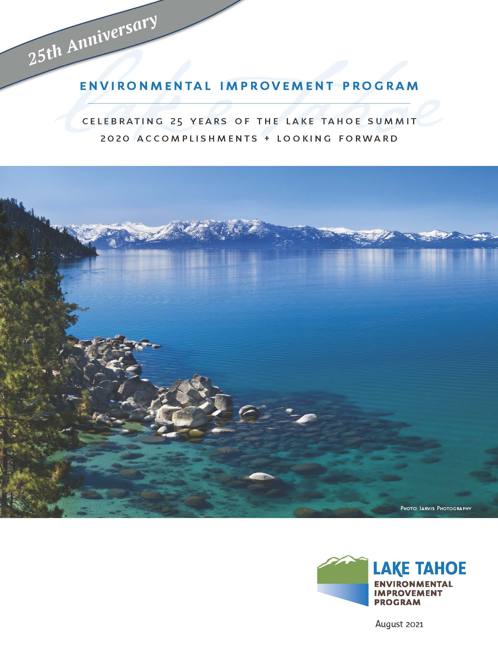 Cover page of EIP 2020 Accomplishments Piece